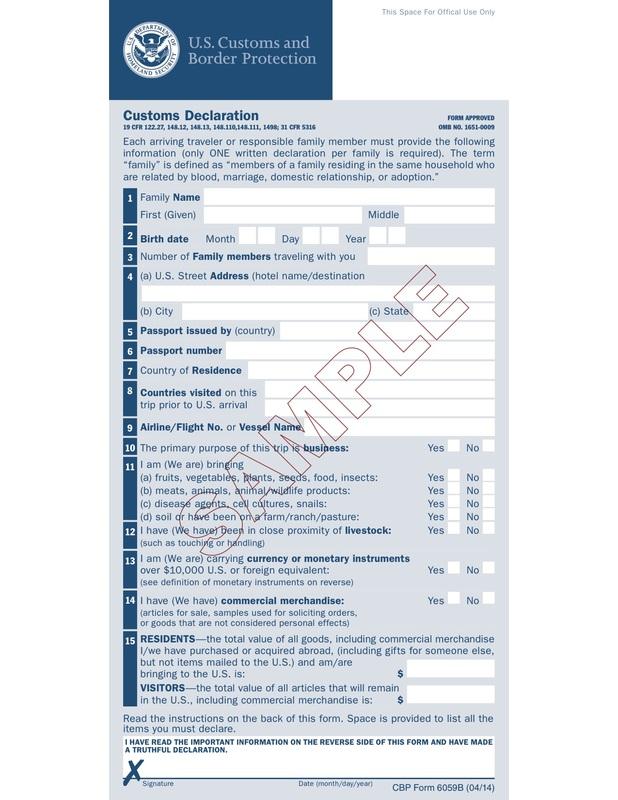 Usa customs form mersnoforum usa customs form altavistaventures Gallery